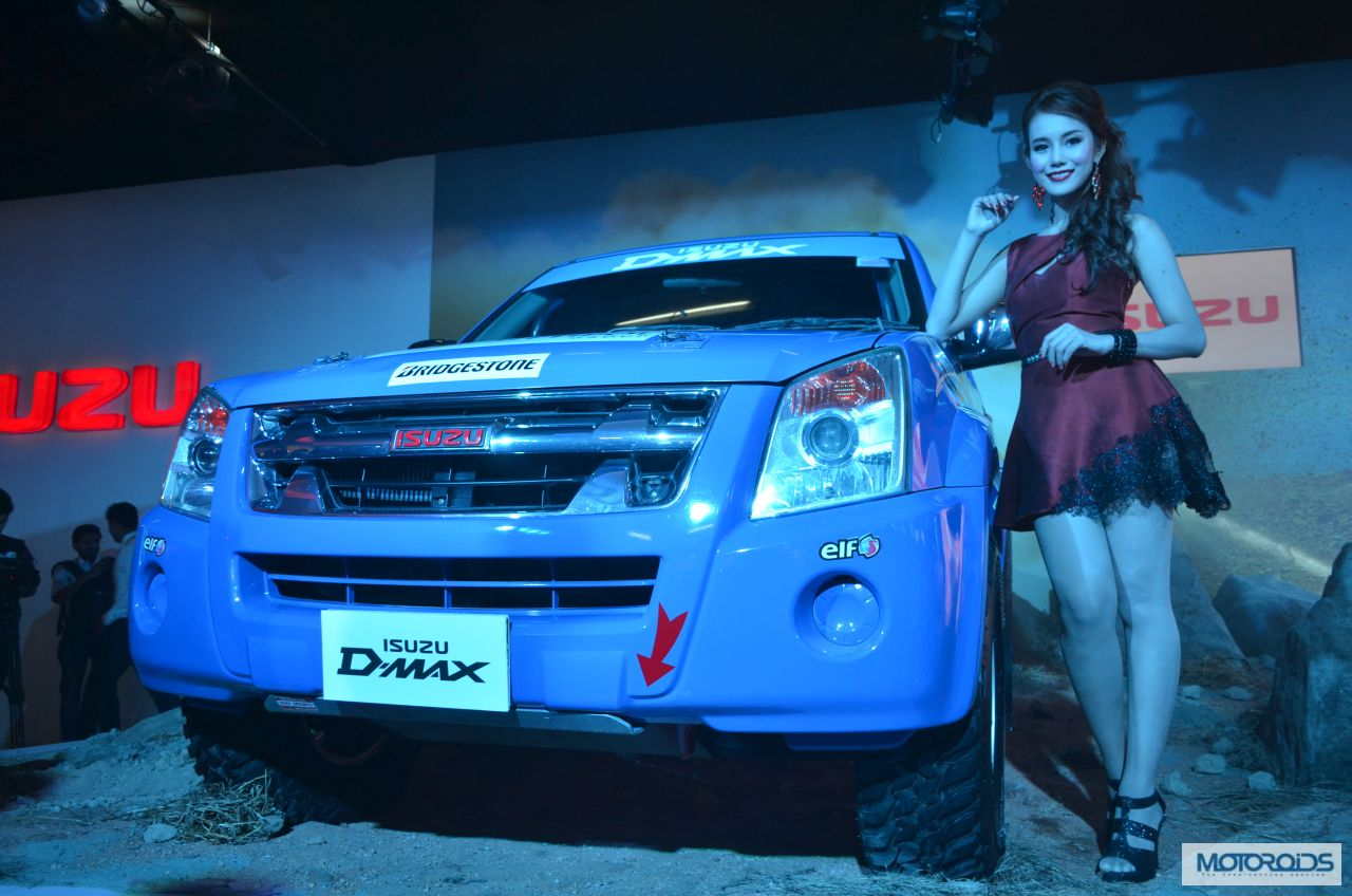 Isuzu motors d max auto expo 2014 11 Auto max motors