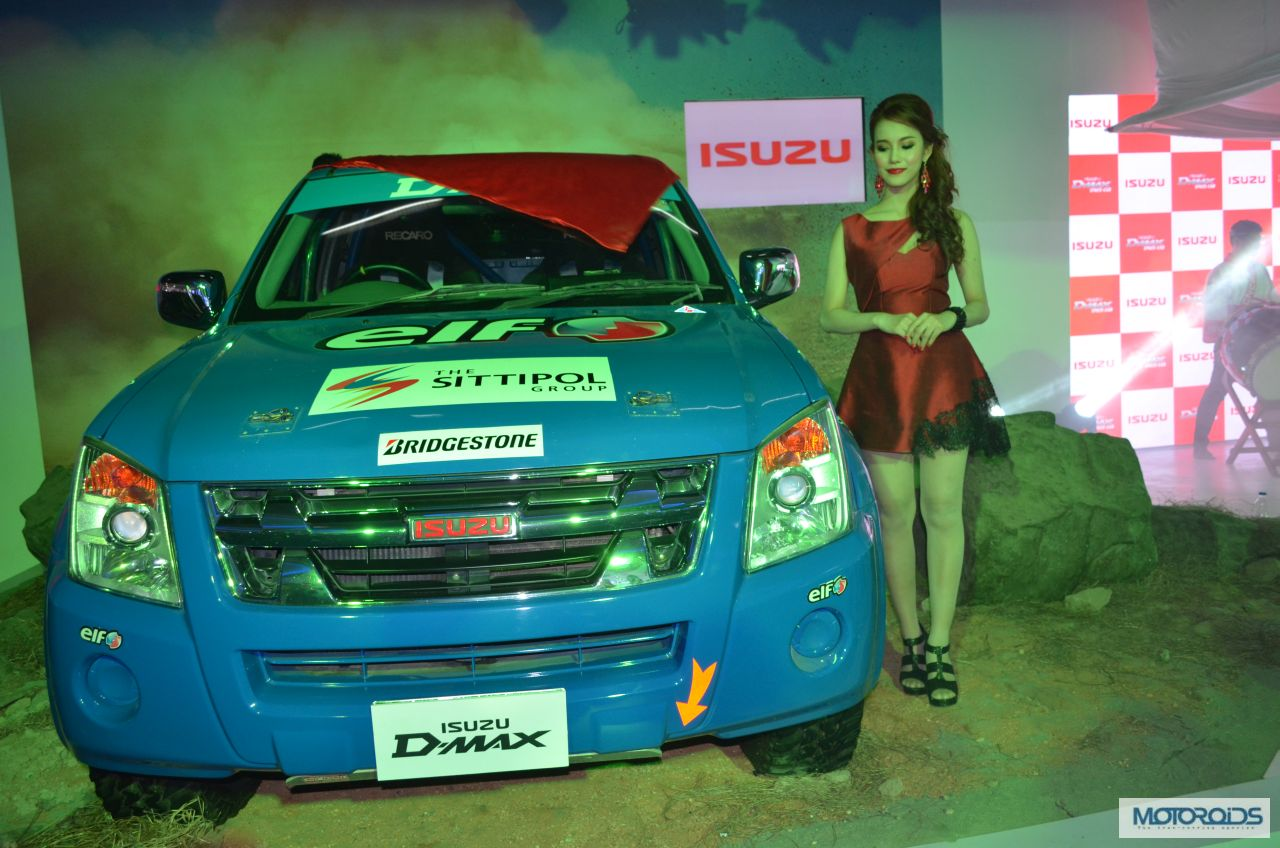 Isuzu motors d max and mu 7 unveiled at auto expo 2014 Auto max motors