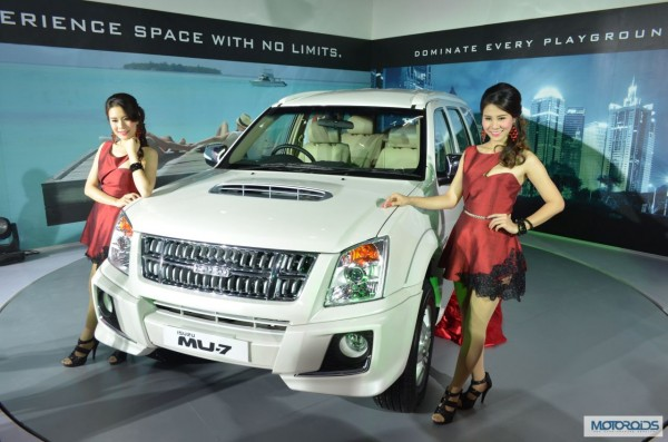Isuzu Motors MU-T Suv Auto expo 2014 (4)