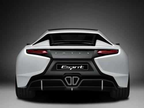 Lotus Esprit launch 2