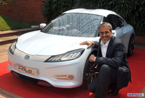 Mahindra Halo electric car