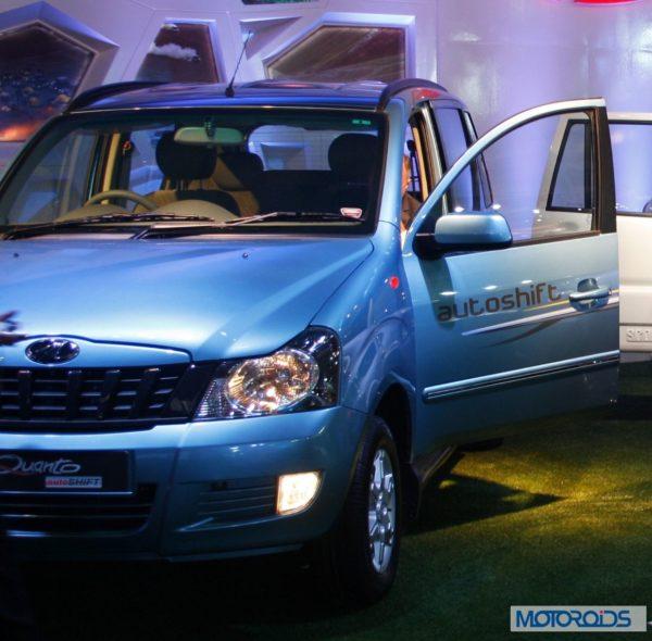 Mahindra Quanto Autoshift Auto Expo 2014