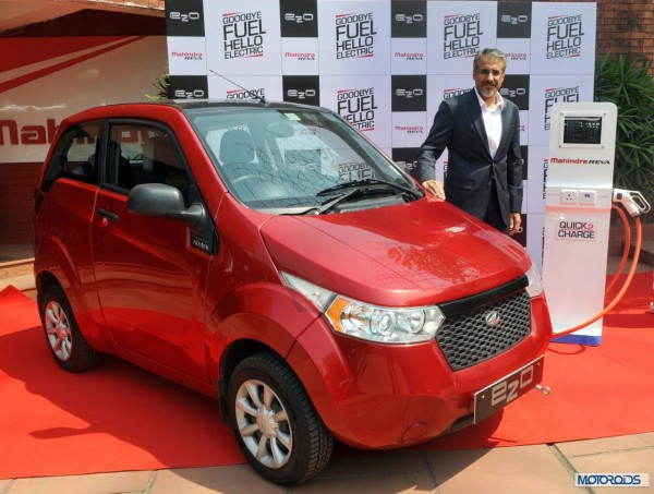 Mahindra Reva goodbye Fuel hello Electric