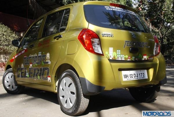 Maruti Suzuki Celerio AMT exterior (10)