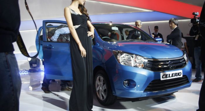 Maruti Suzuki Celerio Launched at Auto Expo 2014: Price, Release and Images