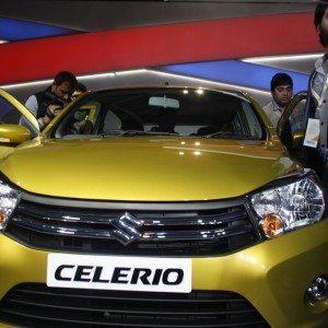 Maruti Suzuki Celerio exterior Auto Expo 2014 (16)