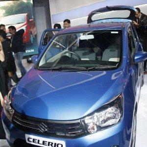 Maruti Suzuki Celerio exterior Auto Expo 2014 (7)
