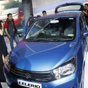 Maruti Suzuki Celerio exterior Auto Expo 2014 (8)
