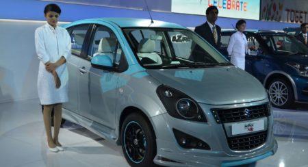 Maruti Suzuki Ritz Jublio at Auto Expo 2014