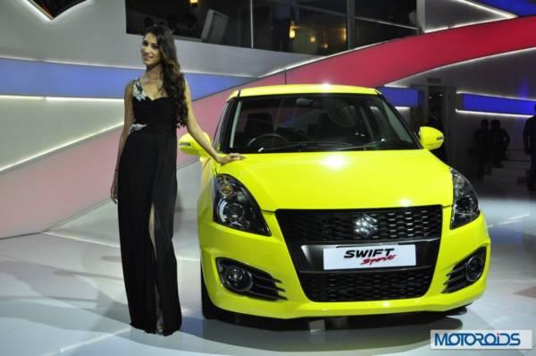 Maruti Suzuki Swift Sport Auto Expo 2014