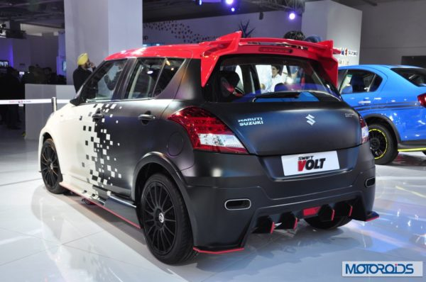 Maruti Suzuki Swift Volt Edition Kit To Cost Inr 2 15