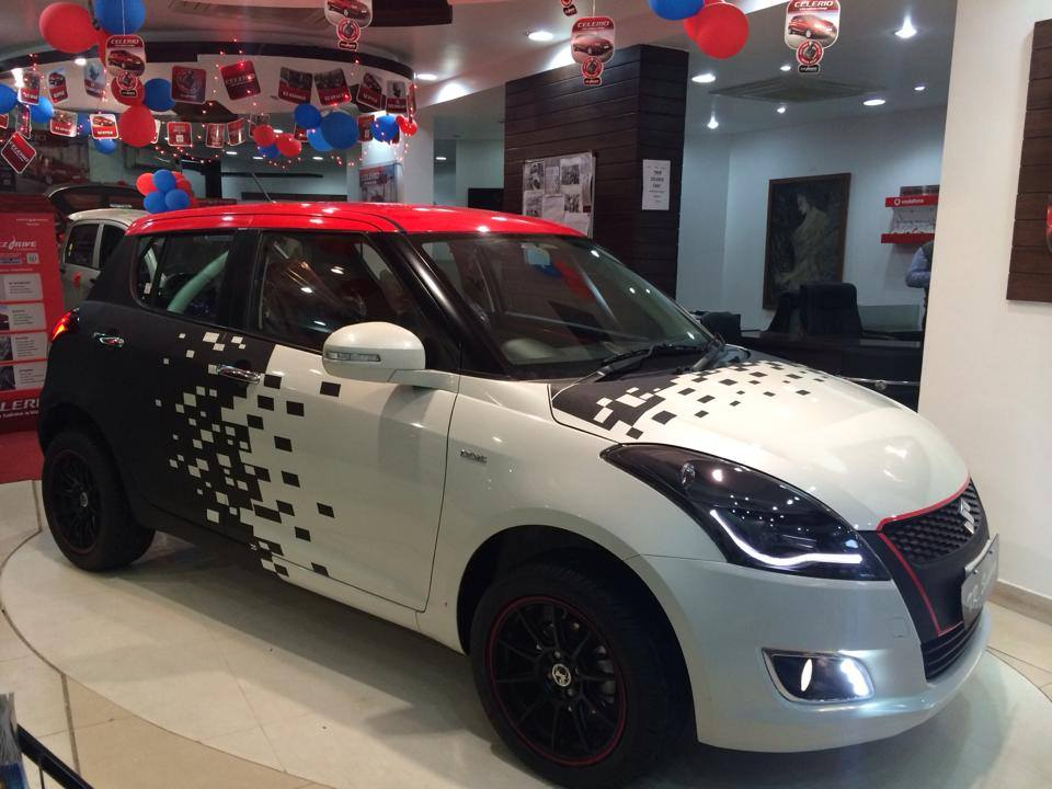 Maruti Suzuki Swift Volt Edition Kit To Cost Inr 2 15 Lakhs