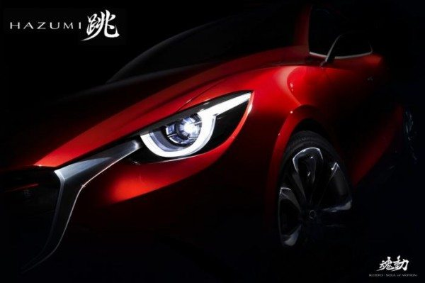 Mazda Hazumi concept teased ahead of its Geneva debut