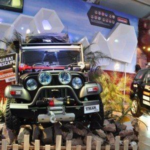 Modified Thar at Auto Expo 2014 (2)