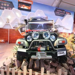 Mahindra Thar Midnight Edition at Auto Expo 2014: Images and Details