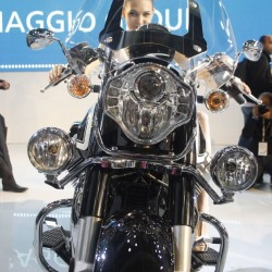 Moto Guzzi California 1400 Touring at Auto Expo 2014: Images and Details