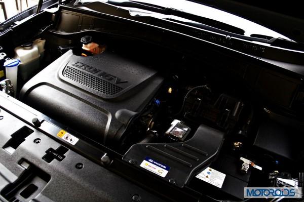 New Hyundai Santa Fe interior (23)
