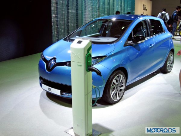 Renault Zoe at Auto expo 2014 (2)