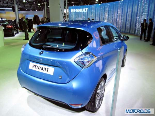 Renault Zoe at Auto expo 2014 (3)