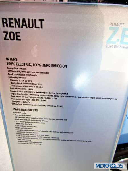 Renault Zoe at Auto expo 2014 (4)