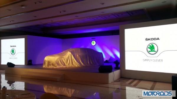Skoda Superb facelift India launch 2014 (2)