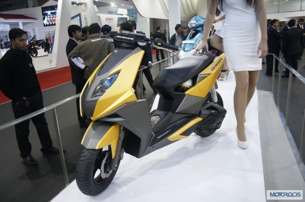 TVS Graphite scooter Auto Expo 2014 (5)