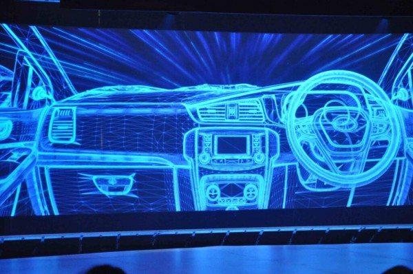 Tata Motors Zest dashboard