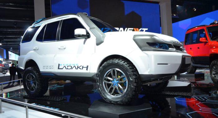 Nexon and ConnectNext Concepts: Tata Motors' 18 New Vehicles at Auto Expo 2014
