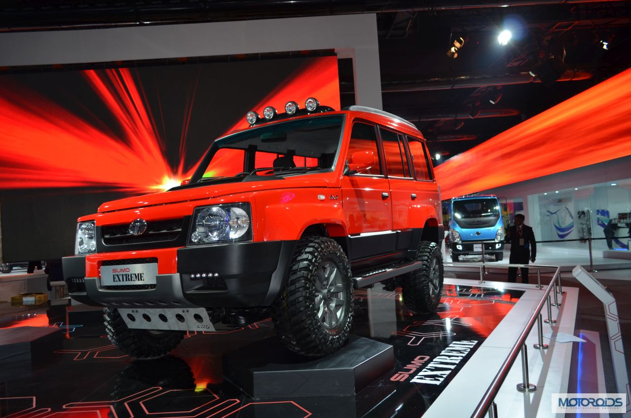 Next-gen Tata Sumo will be based on a new lightweight ...