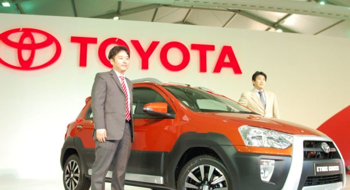 Toyota Unveils Etios Cross Crossover at Auto Expo 20014: Images and Details