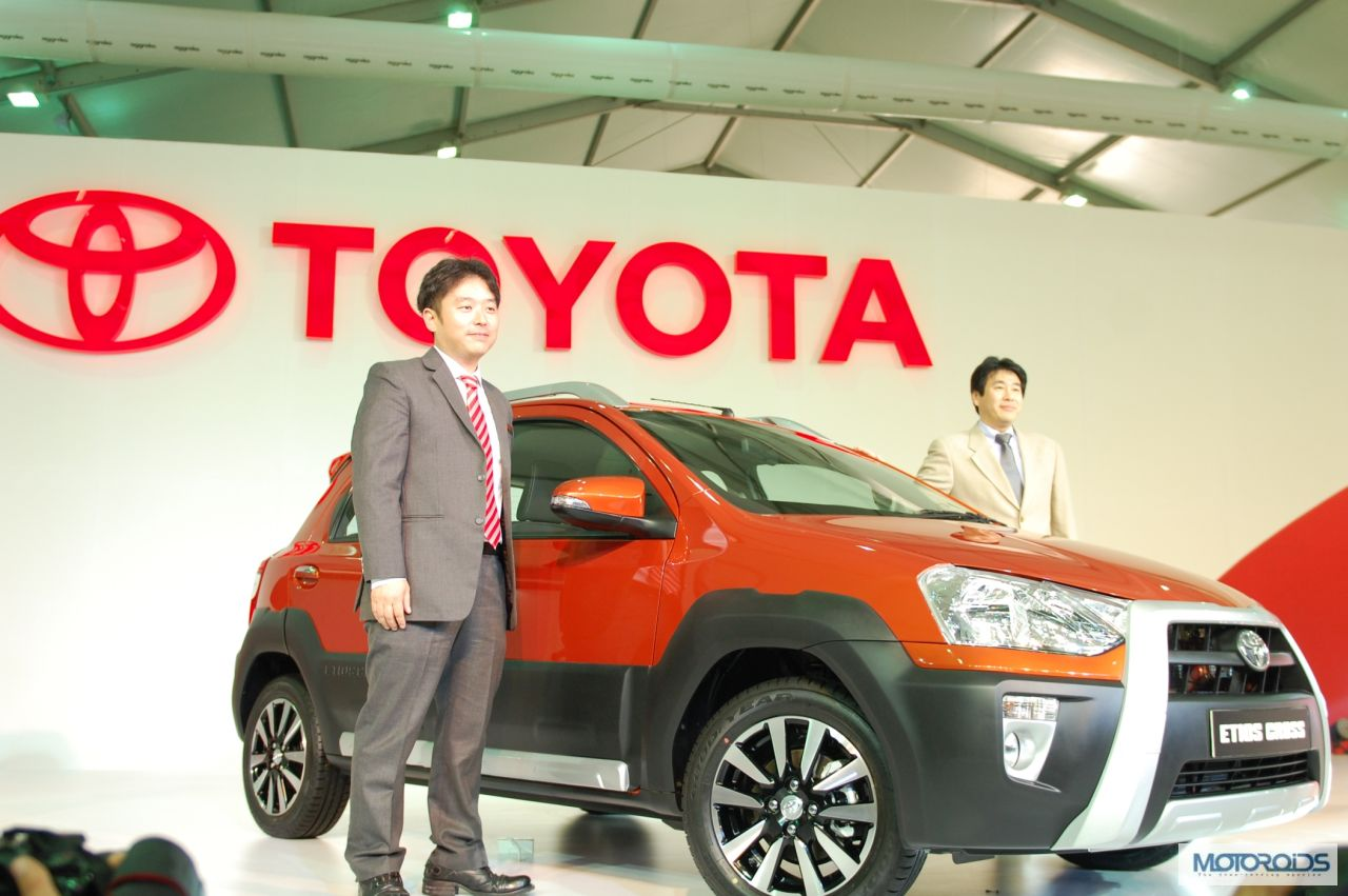 Toyota Unveils Etios Cross Crossover At Auto Expo 20014