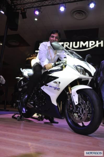 Triumph Motorcycles daytona 675 at Auto Expo 2014 (4)