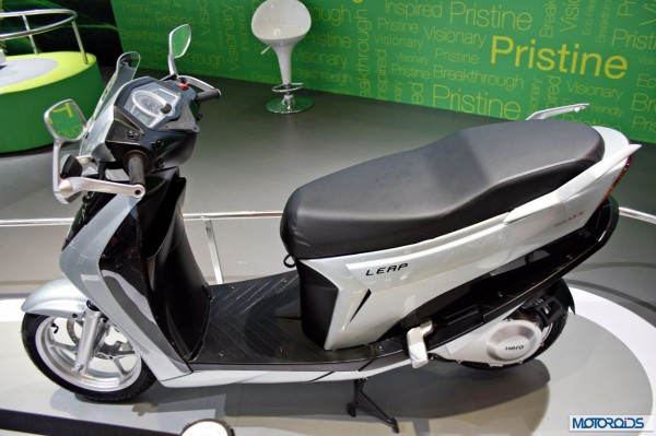 hero Leap electric hybrid scooter (2)