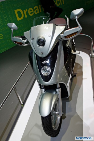 hero Leap electric hybrid scooter (3)
