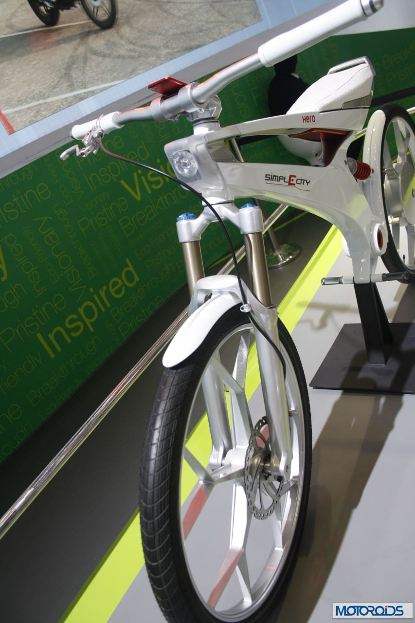 Hero Simplecity Is A Lightweight Electric Motorcycle For