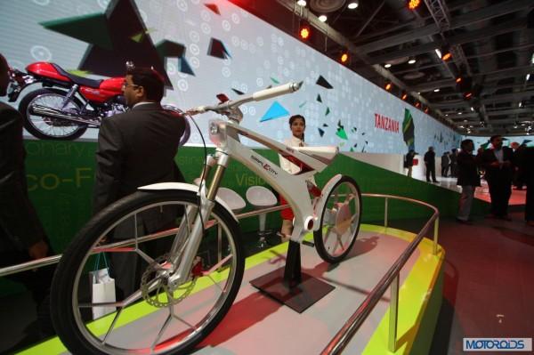 hero SimplEcity electric bike Auto Expo 2014