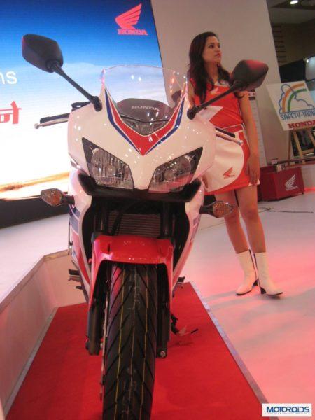 Auto Expo 2014:Honda CBR500R India debut takes place