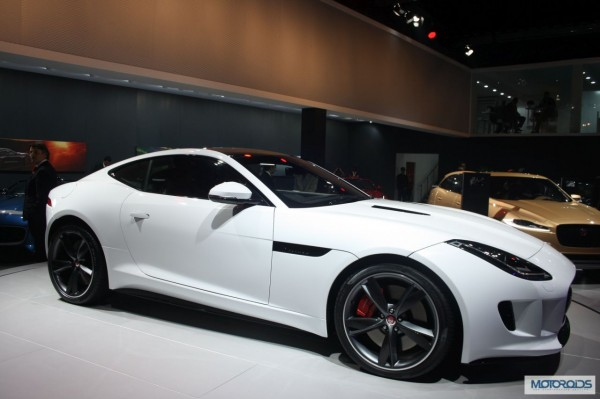 jaguar F type Coupe Auto Expo 2014 (5)