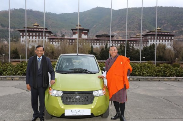 Mahindra signs MoU with Government of Bhutan