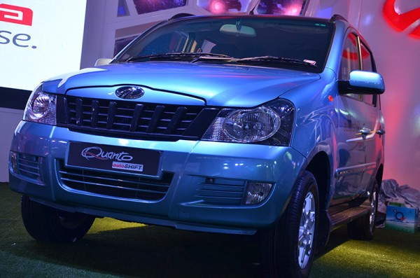 Auto Expo 2014: Mahindra Quanto Autoshift Showcased [Images and Details]