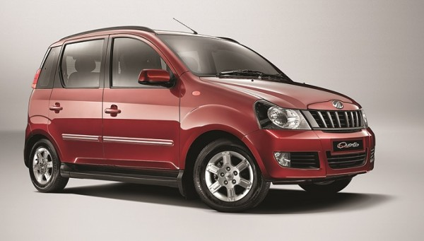 Mahindra Quanto AMT variant debut at Auto Expo 2014