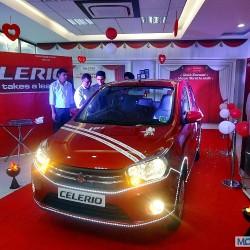 Maruti Suzuki Celerio Vrooms in to Mumbai at Shivam Autozone