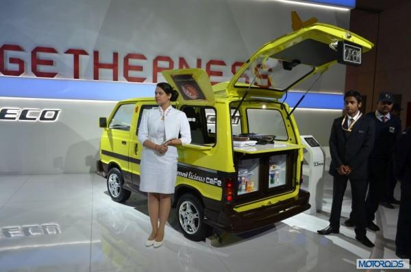 maruti Suzuki Omni licious cafe at Auto Expo 2014)