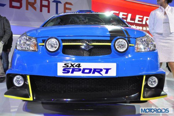 Auto Expo 2014 LIVE: Maruti Suzuki SX4 Sport [Images & Details]