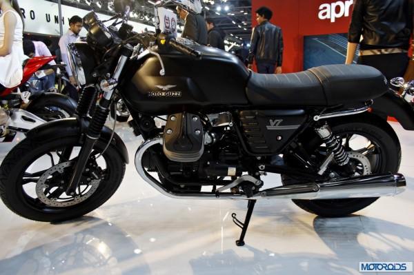 moto Guzzi V7 Auto Expo 2014