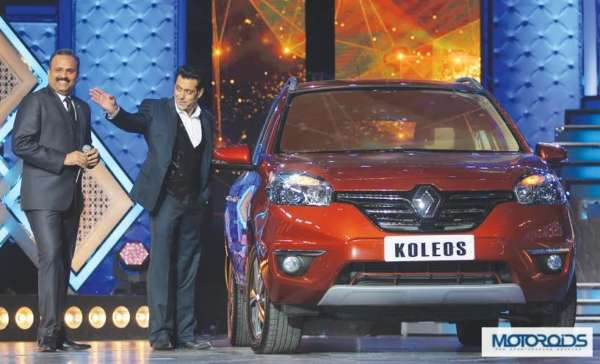 Salman Khan becomes first owner of the Renault Koleos facelift