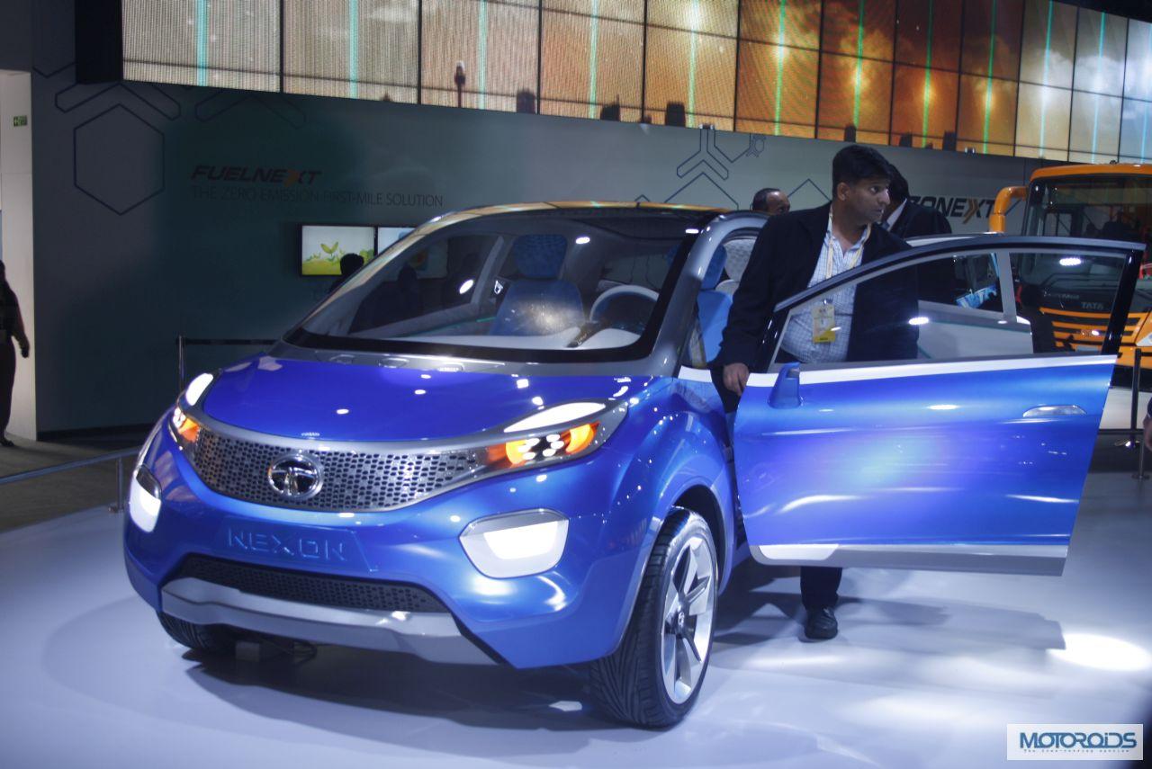Nexon and connectnext concepts tata motors 18 new for Tata motors future cars