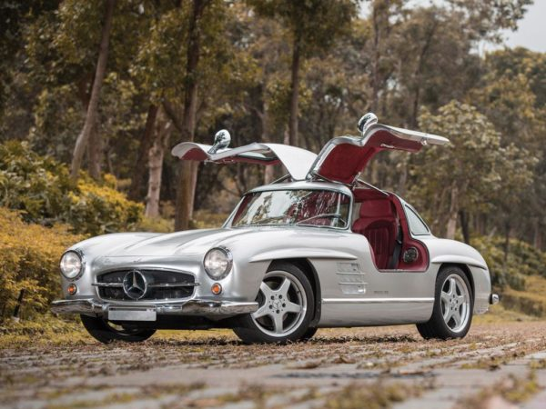 Mercedes-Benz 300 SL with official AMG restomod to be auctioned