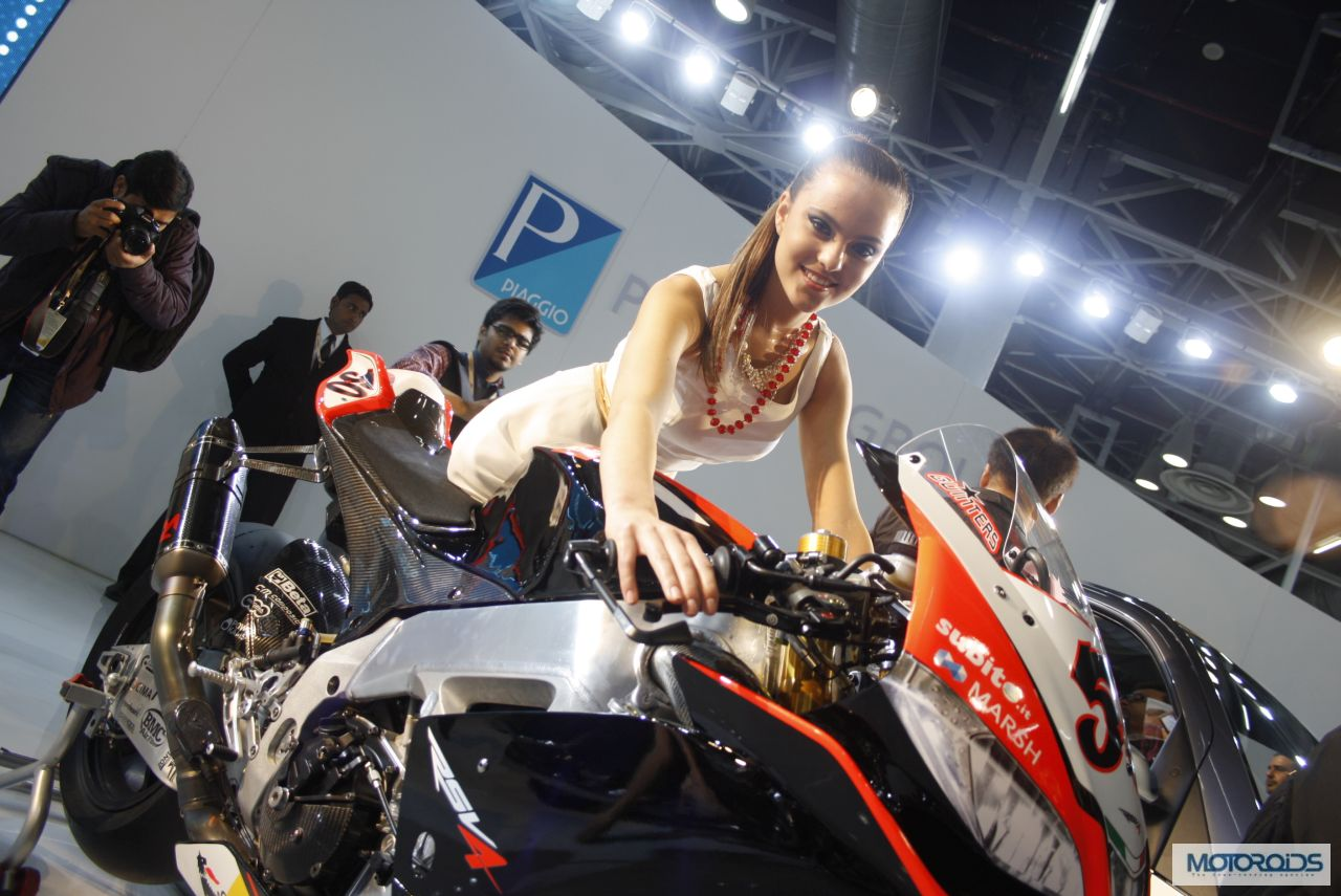 ckd assembly of aprilia bikes in india could commence soon; price