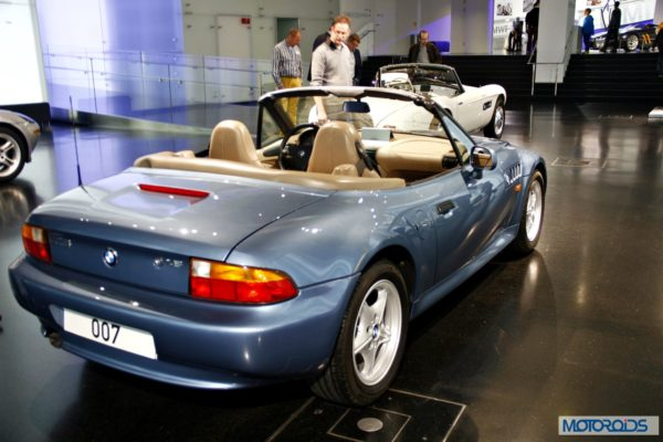 BMW Z3 James Bond car